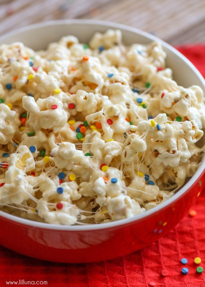 Birthday Cake Popcorn | Recipe | Recipes to Cook | Birthday cake ...