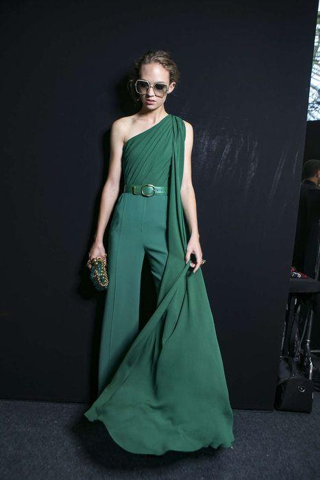 Grüne Abendkleider Paris  chicago 2022