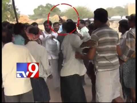 YSRCP supporters attack TDP agent in Kadapa polling station