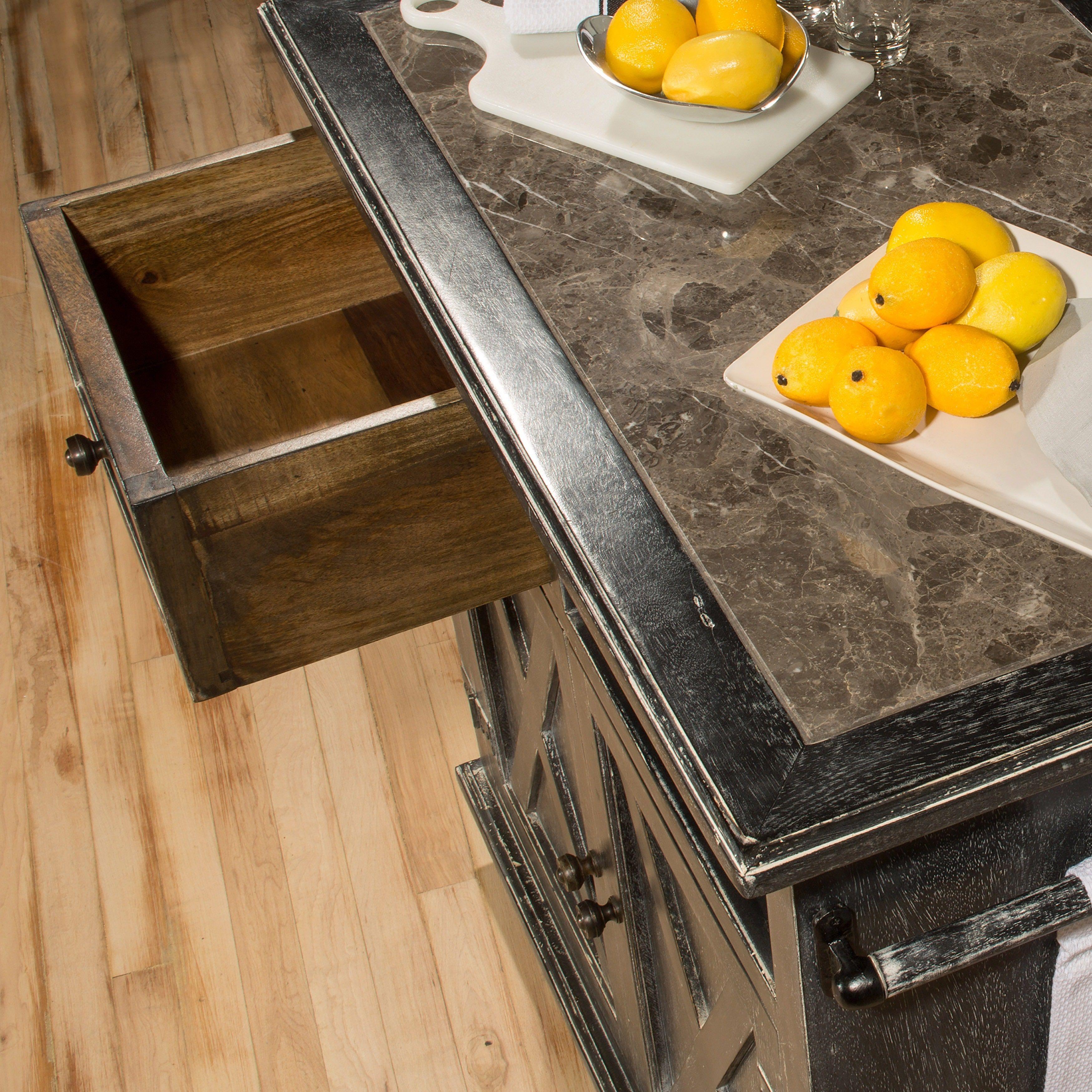 Hillsdale Furniture s Bellefonte X Design Rustic Black Kitchen