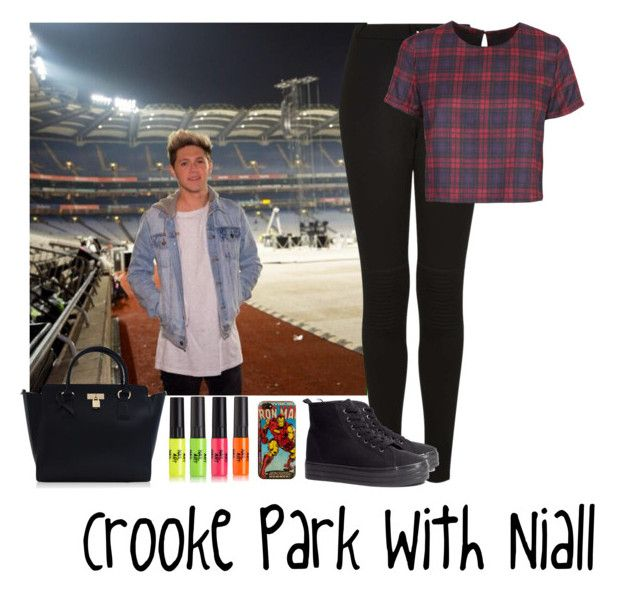 """Crooke Park With Niall"" by janoskianator07 ❤ liked on Polyvore featuring Boutique, H&M and Marvel Comics"