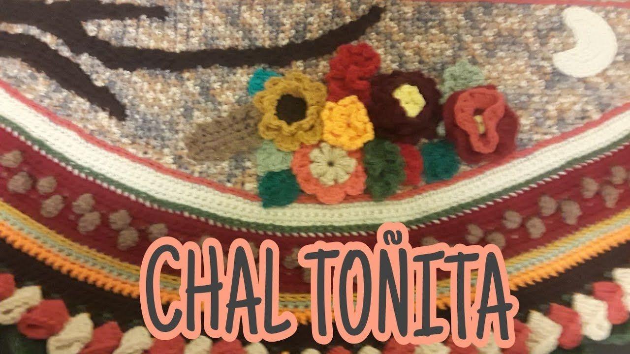 Centro CHAL TOÑITA a crochet 1a parte | Curso wrap | Pinterest ...