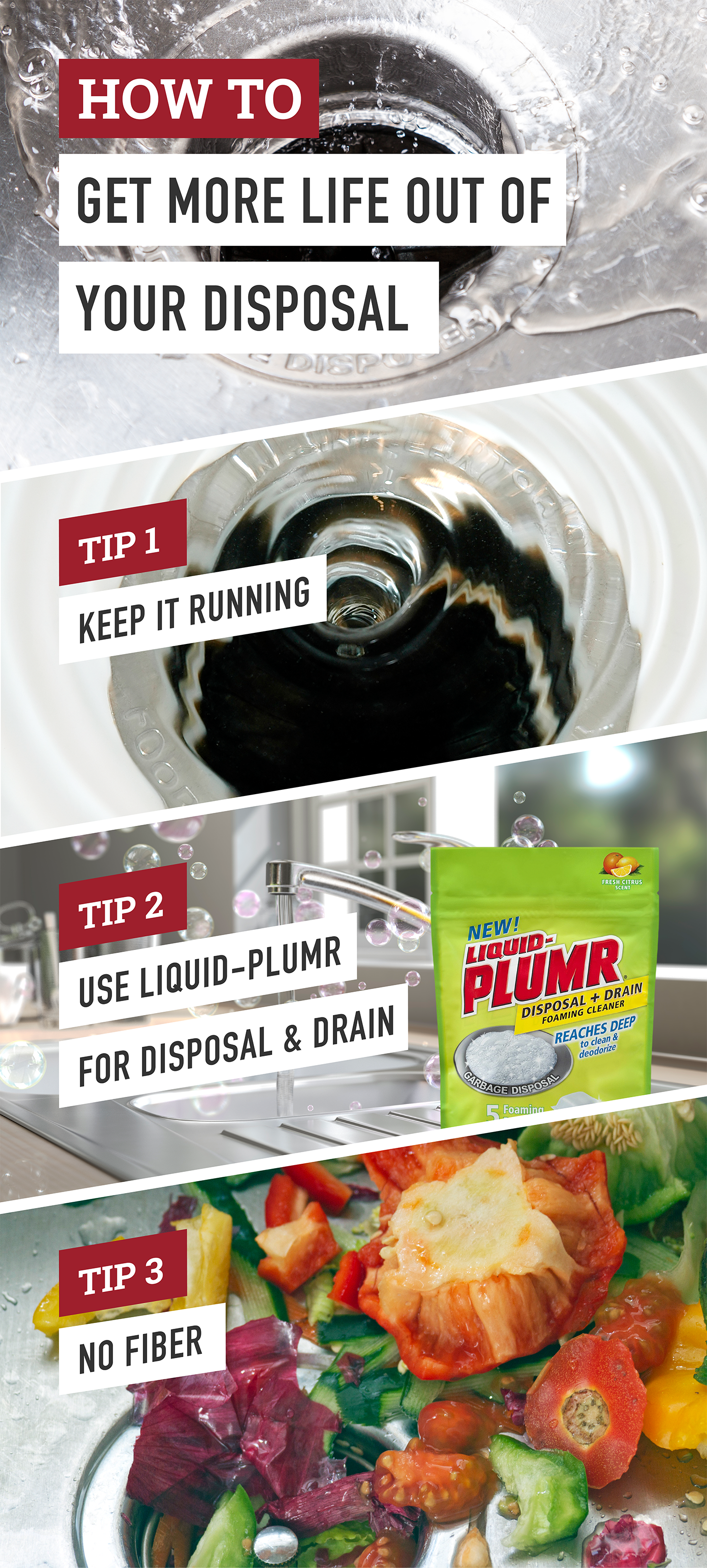 Garbage disposals break. Follow these tips to help preserve your ...