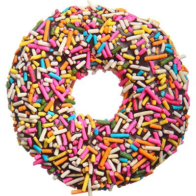 You Are A Sprinkled Donut Flamboyant And Flashy You Re