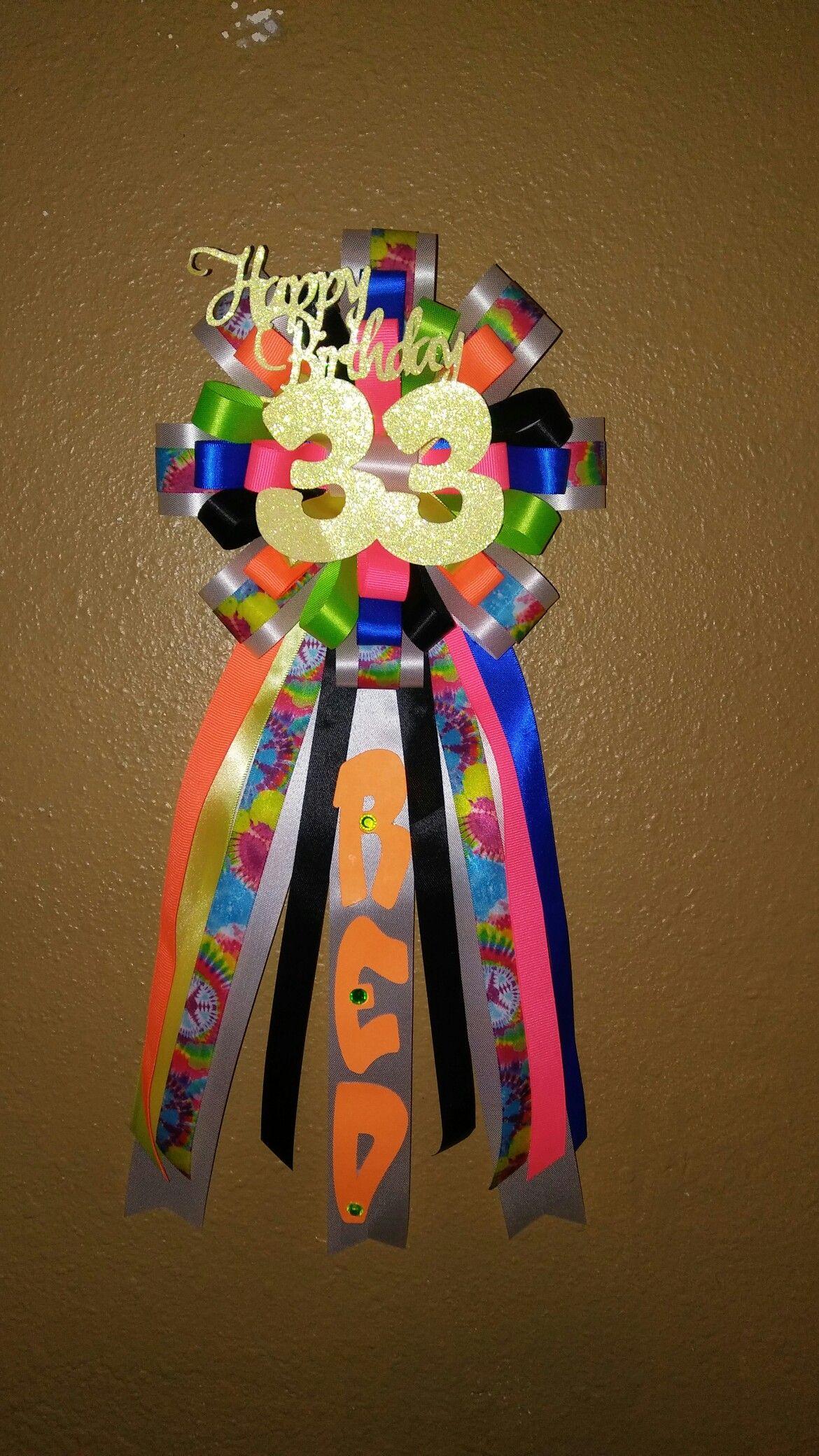 Birthday Pin/Birthday Corsage;Gatsby inspired | Birthday