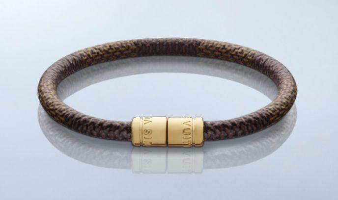 Louis Vuitton's Keep It bracelet in Damier