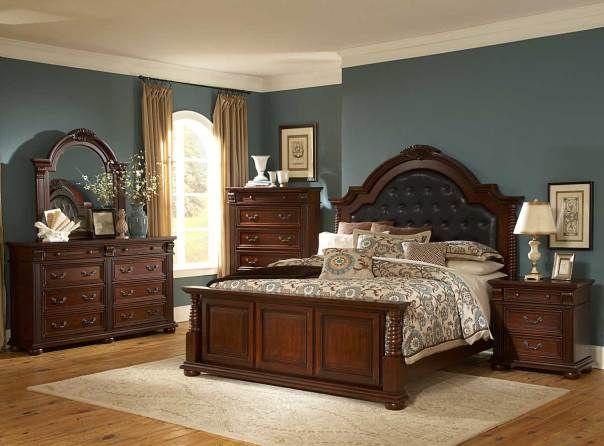 furniture-kamar-kayu ukir jati | Perabot kamar tidur ...