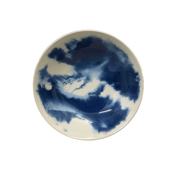 Dark Matter Blue Cereal Bowl 19cm #ceramiccafe