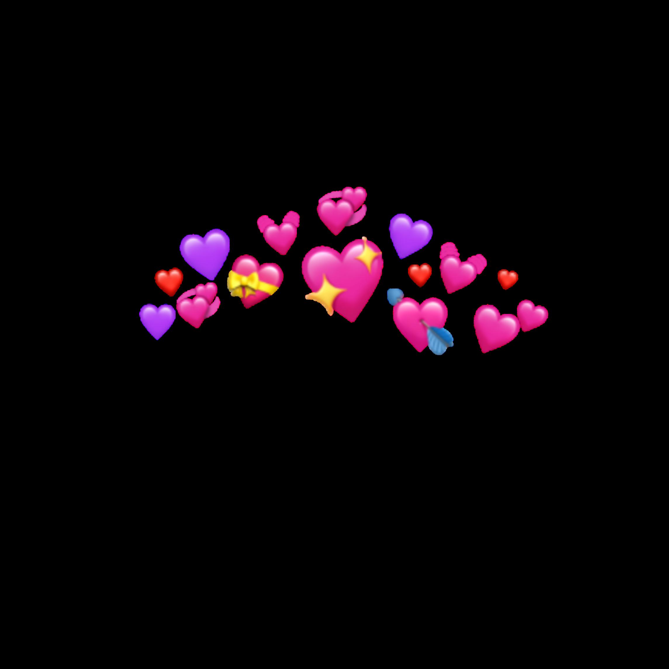 Freetoedit Coronadecorazones Corono Png Tumblr Stikers Corazones Coronas Colors Remixit Emoji Backgrounds Emoji Wallpaper Iphone Emoji Art