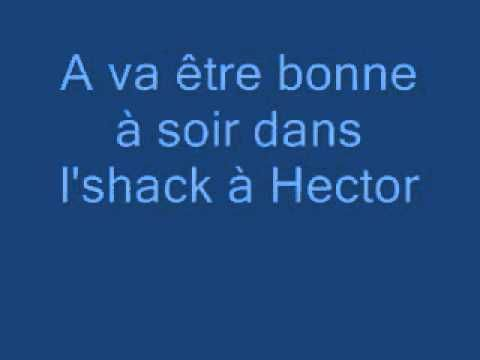 L'Shack à Hector Les Cowboys Fringuants paroles (avec