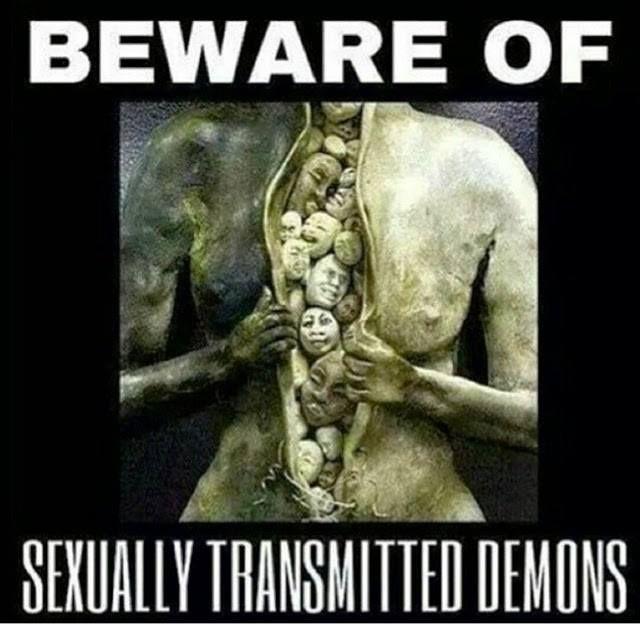 Beware Sexually Transmitted Demons Spirituality Spiritual