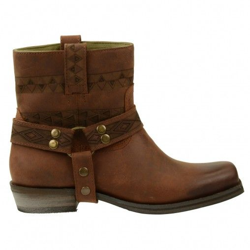 leren cowboy boots