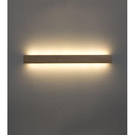 Aplique de pared manolo led madera natural de ole home - Apliques pared led ...