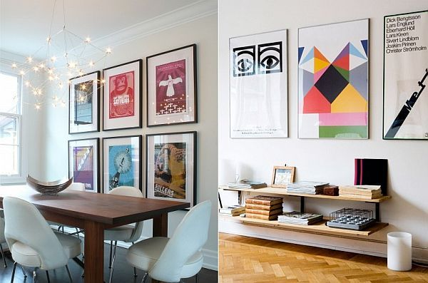The Beauty Of Decorating With Posters Home Design Ideas