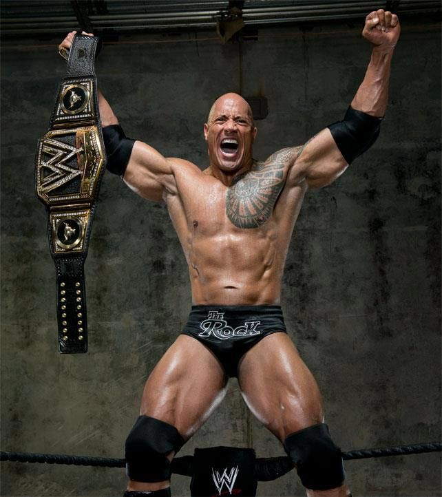 Win or lose The Rock is still the Peoples Champ! | The rock dwayne ...