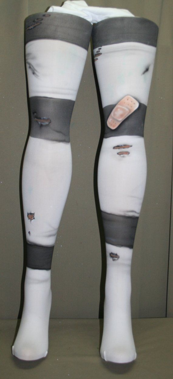 Gaige from Borderlands inspired tights by beadborg on Etsy