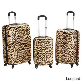 Rockland Designer 3-piece Lightweight Hardside Spinner Luggage Set ...