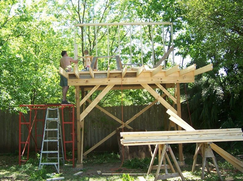 How to build a simple tree house wooden design plans for How to build a simple tree fort