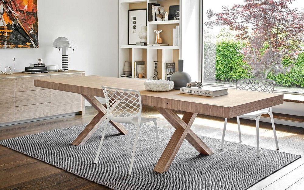 Awesome Tavolo Allungabile Legno Contemporary - Home Design Ideas ...