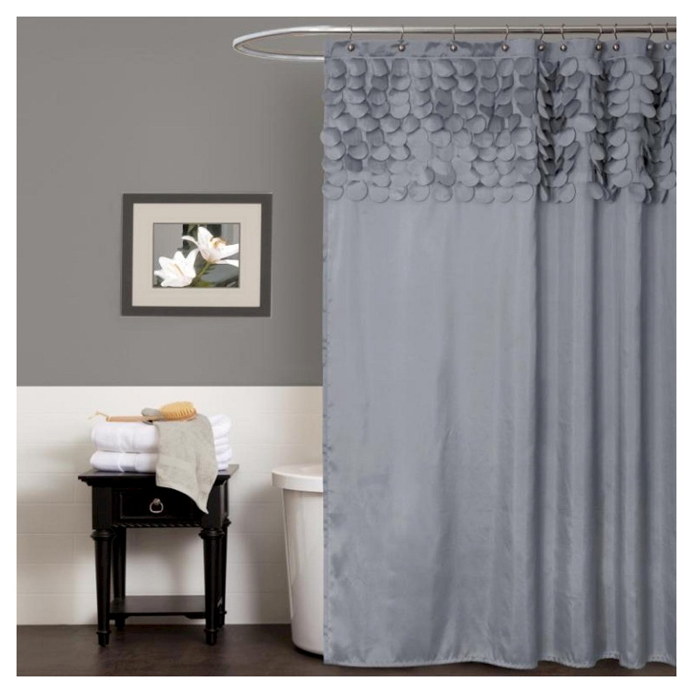 Lillian shower curtain gray curtain ideas products and industrial