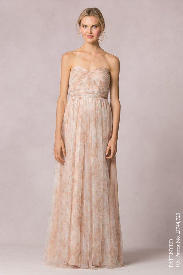 6dc7febe227 Annabelle convertible dress Jenny Yoo Watercolor Blush Pink ...