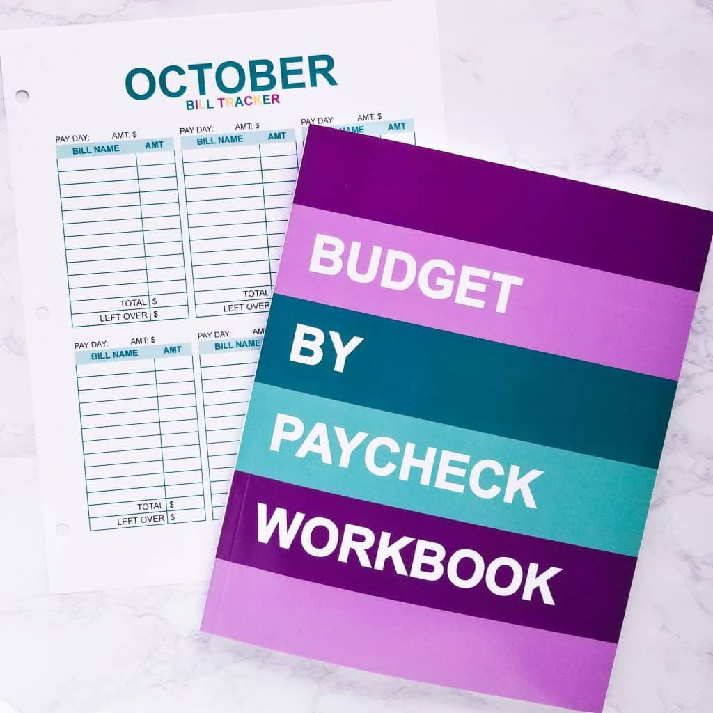 The Budget By Paycheck Workbook