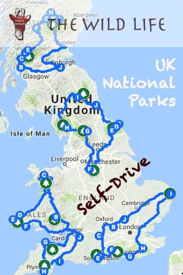 4 Awesome National Parks UK Self-Drive Tours