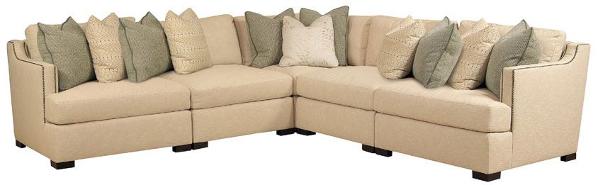 Bernhardt Ashfield Sectional B14 Corner Sectional Sofa