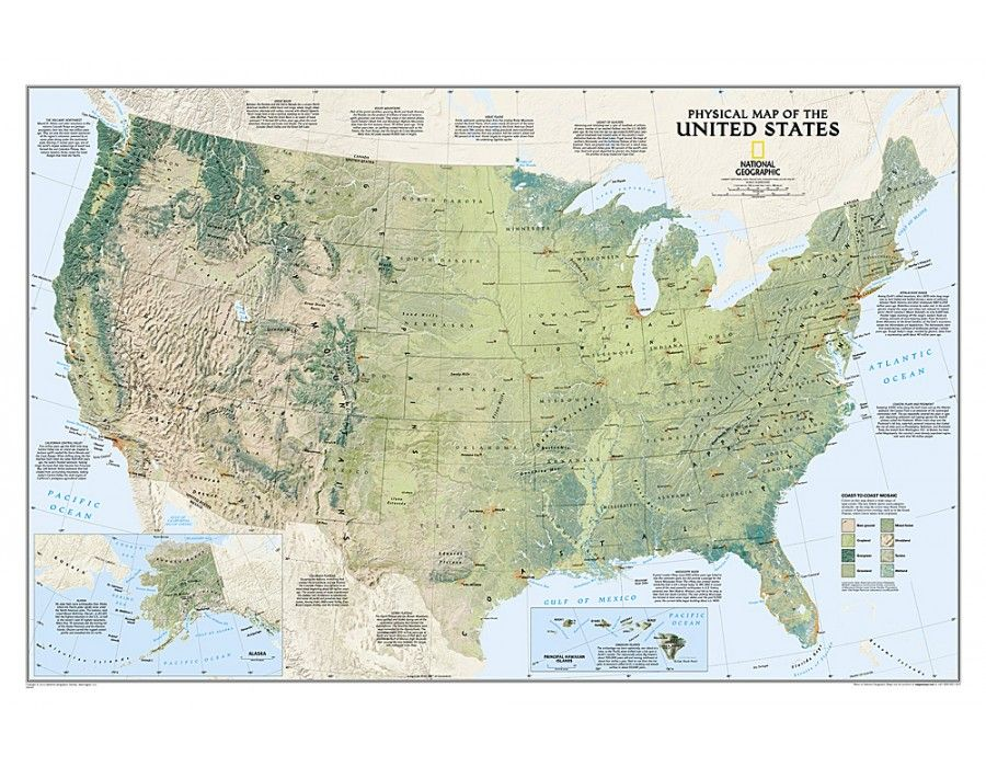 Buy United States Physical Wall Map Tubed US Maps Pinterest - Us map buy