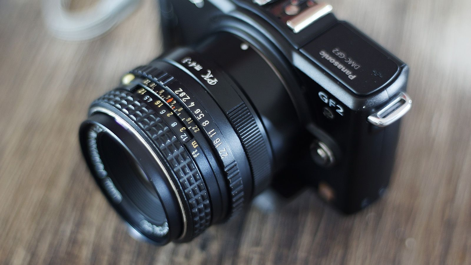 Lumix Gf2 Smc Pentax M 50mm F 2 Pentax Binoculars Photography