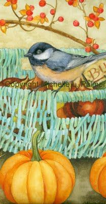Michelle Palmer: New Watercolor Snippets...