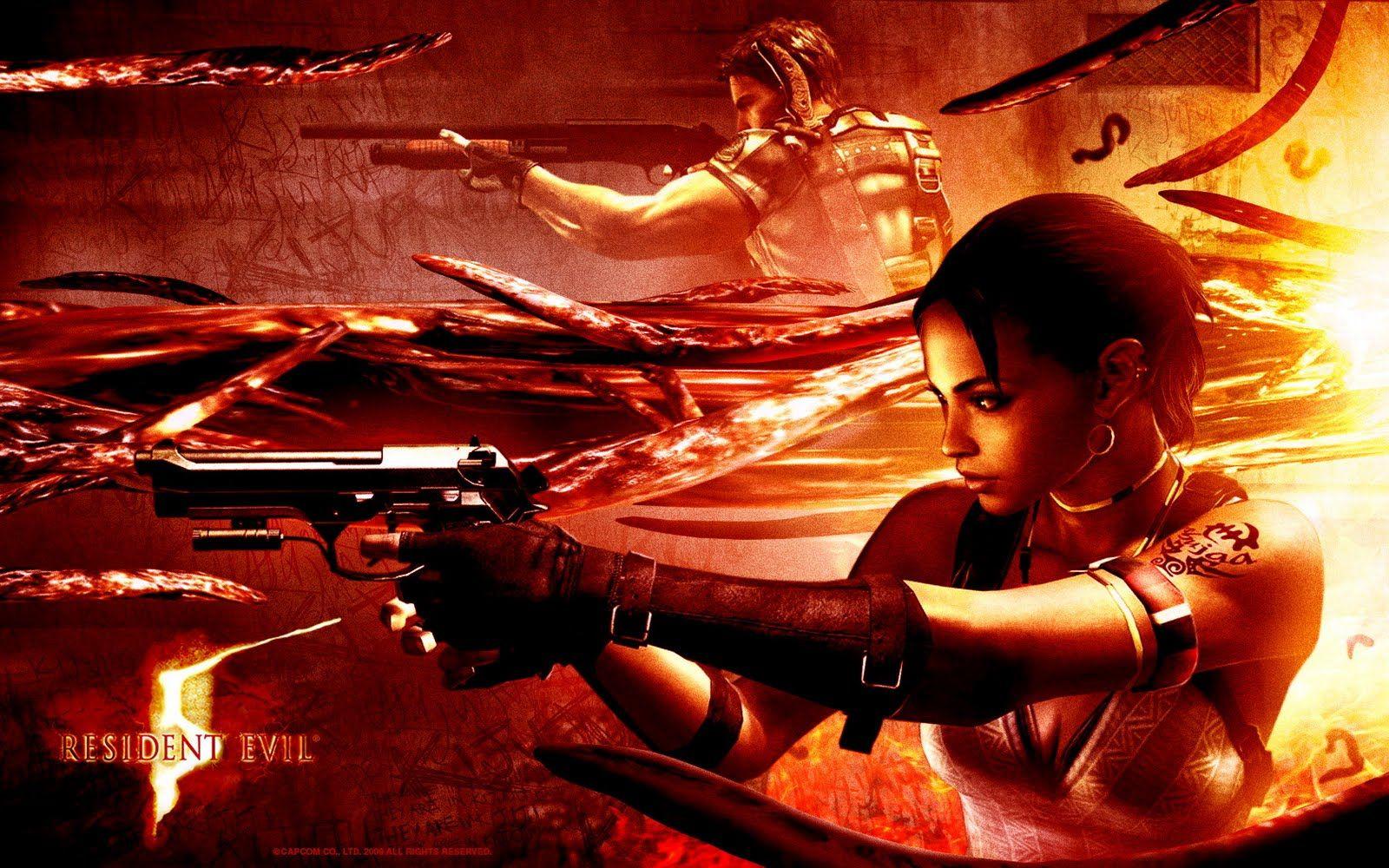 Resident Evil 5 Promo Image Resident Evil 5 Resident Evil Resident Evil Game