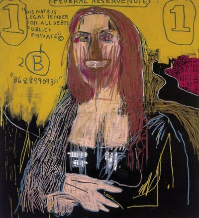 Mona Lisa - 1983  © The Estate of Jean-Michel Basquiat   Collection Ambrous T. Young