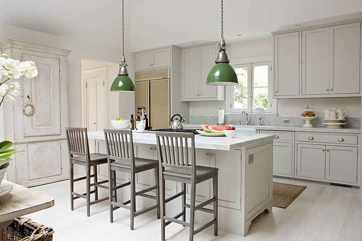 A Pale Palette For The Home Pinterest Grey Shaker Kitchen - Light gray shaker cabinets