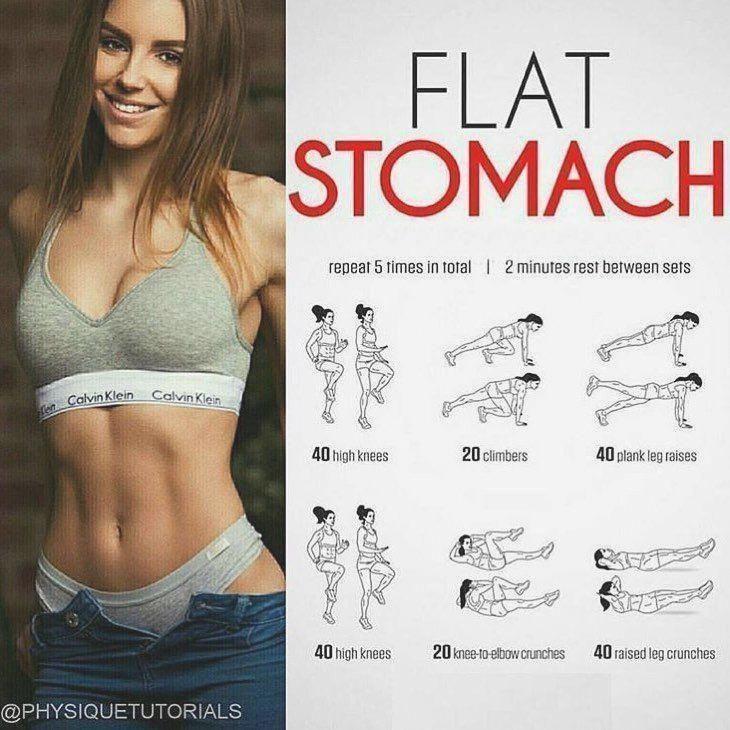 Photo of flache Bauchmuskeln, schlanker Bauch, Bauchmuskeltraining, Bauchübungen, flache…
