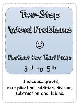 Two Step Word Problems (STAAR) | Word problems, Math word ...