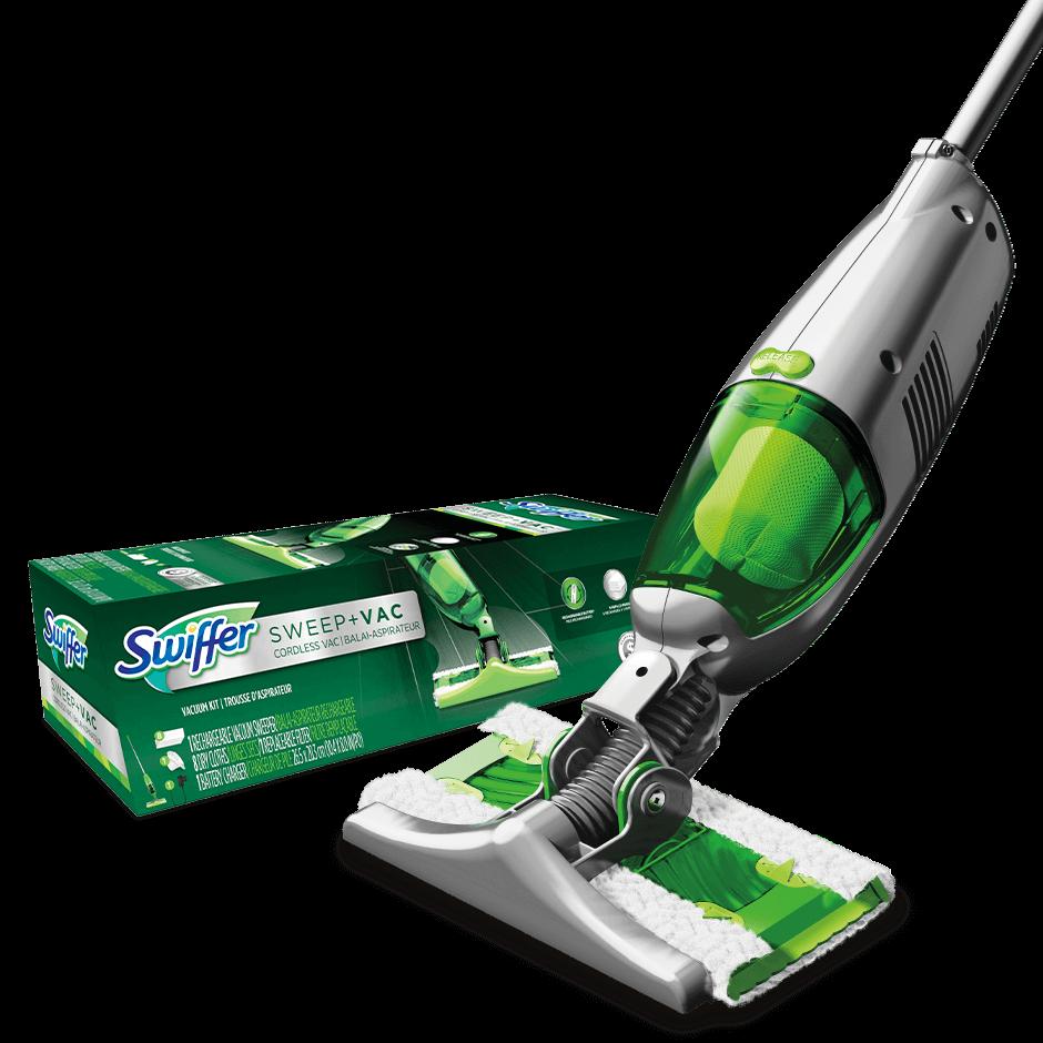 Swiffer Sweepervac Cordless Vacuum Starter Kit Swiffer