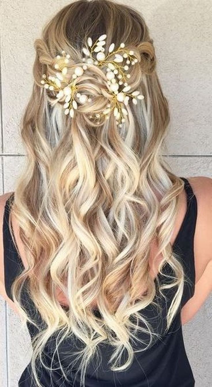 41 Pretty Hairstyle Ideas for Prom Night | Fairytale hair ...