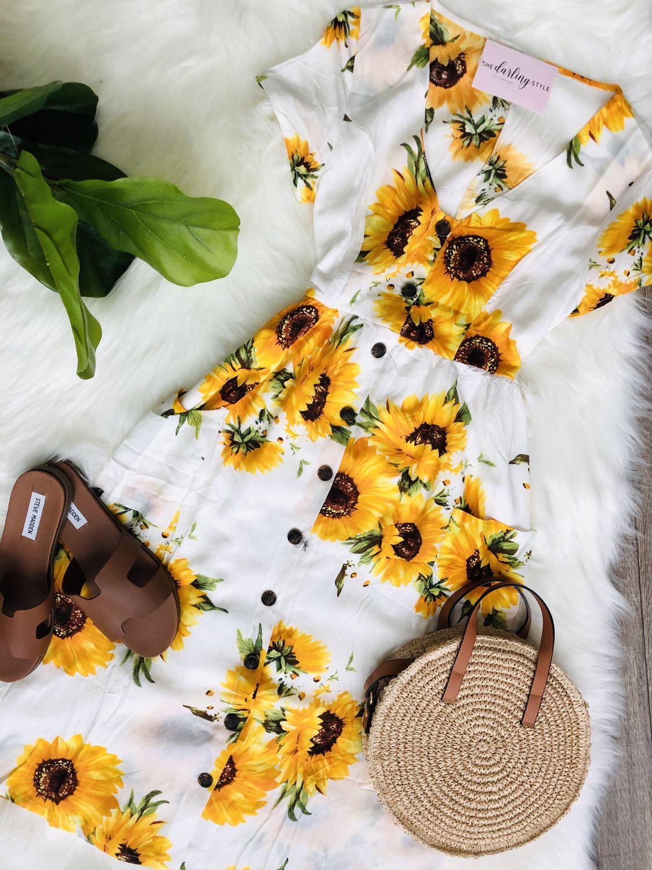 Sunflower Dress Modest Summer Dresses Sunflower Dress Classy Summer Dress Summer Dresses [ 1500 x 1124 Pixel ]