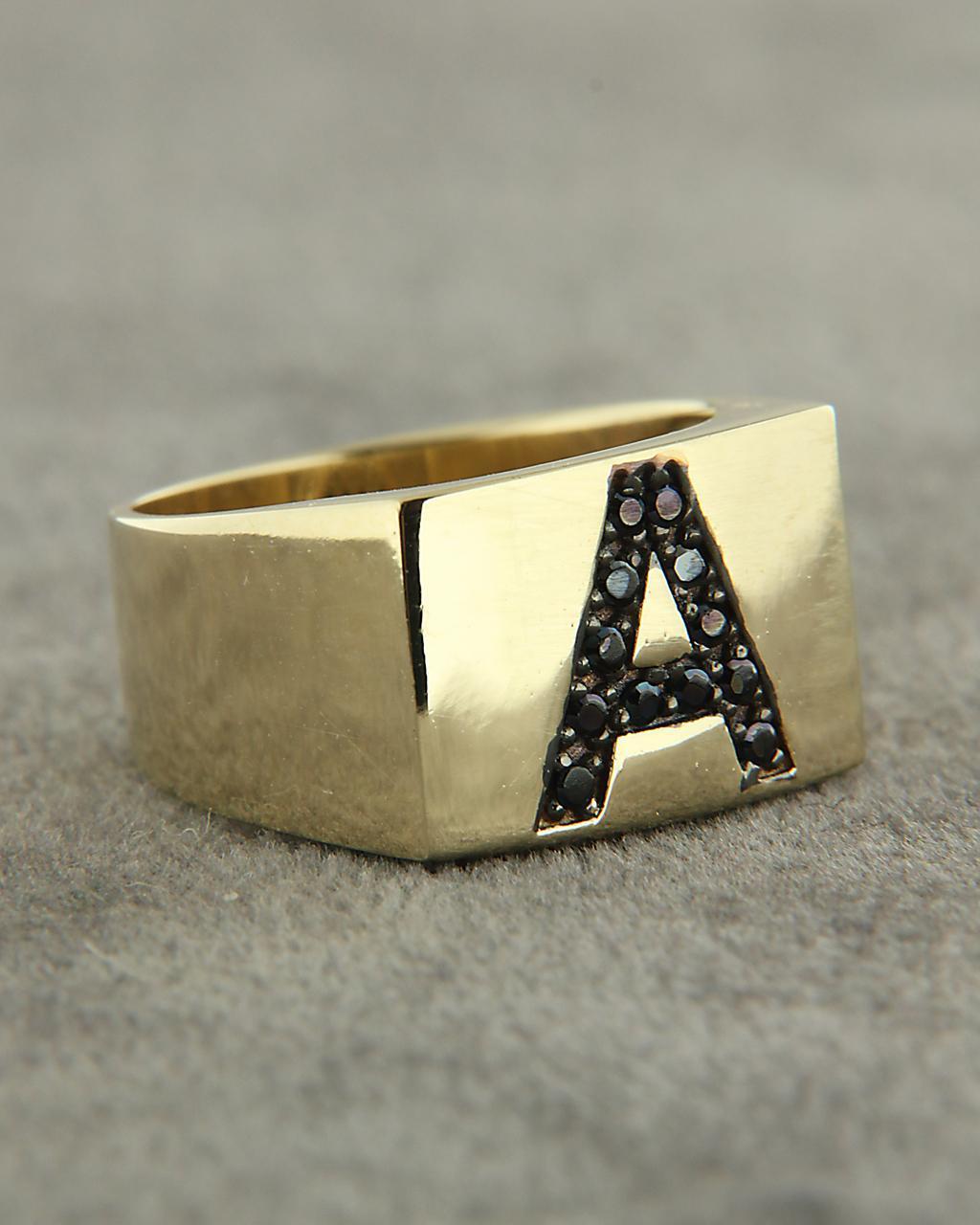 Δαχτυλίδι chevalier από χρυσό Κ14 με Ζιργκόν  38fce1e3b80