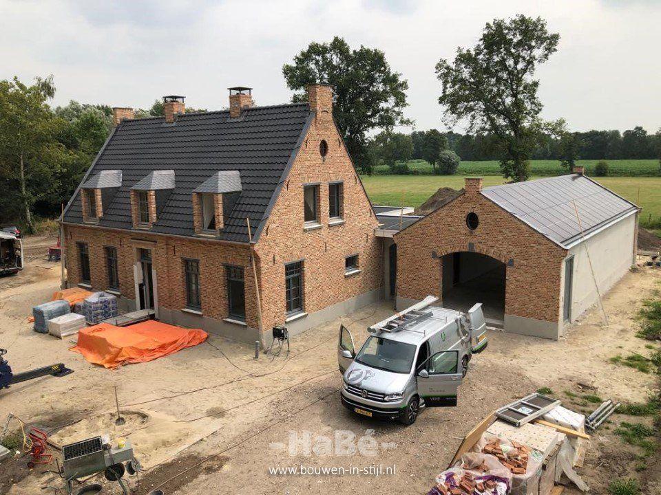 Vrijstaand woonhuis in Kempische bouwstijl in Ederveen – HaBé