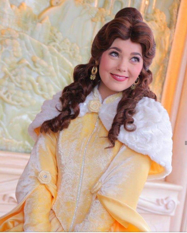 Belle in her winter wear