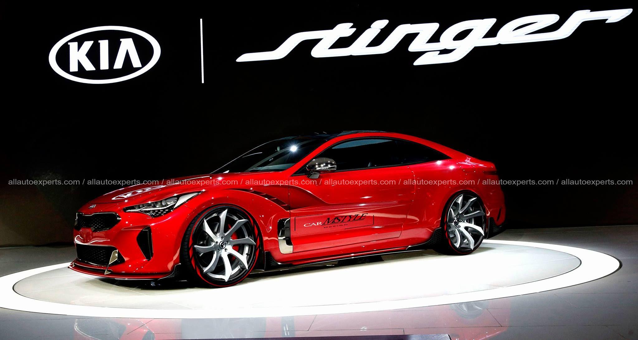 Kia Stinger Gt Coupe All Wheel Drive And Turbo Aspirated Engine Preview The Koreans Didn T Abandon Their Promises Made Some Time A Kia Stinger Kia Kia 2017