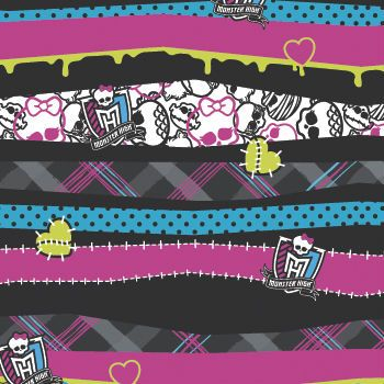 Monster High Party Supplies Jumbo Gift Wrap Pk Party Supplies