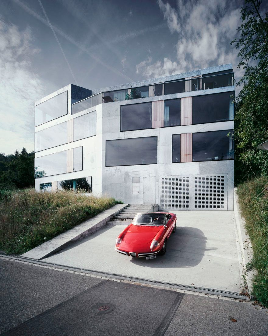 Modern Architecture Zurich house for architects and artists / afgh | architects, house and