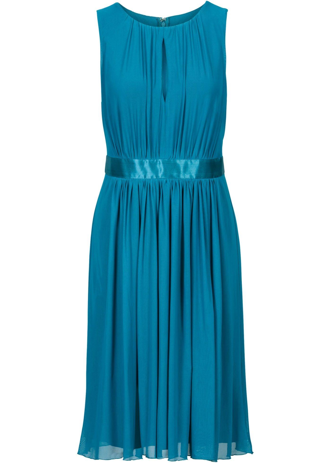 Kleid blaugrün - BODYFLIRT jetzt im Online Shop von ...