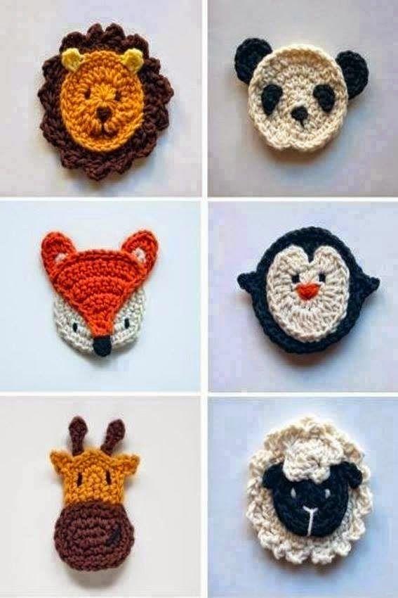 Apliques Em Croche Crochet Motif Crochet Crochet Applique Patterns Free