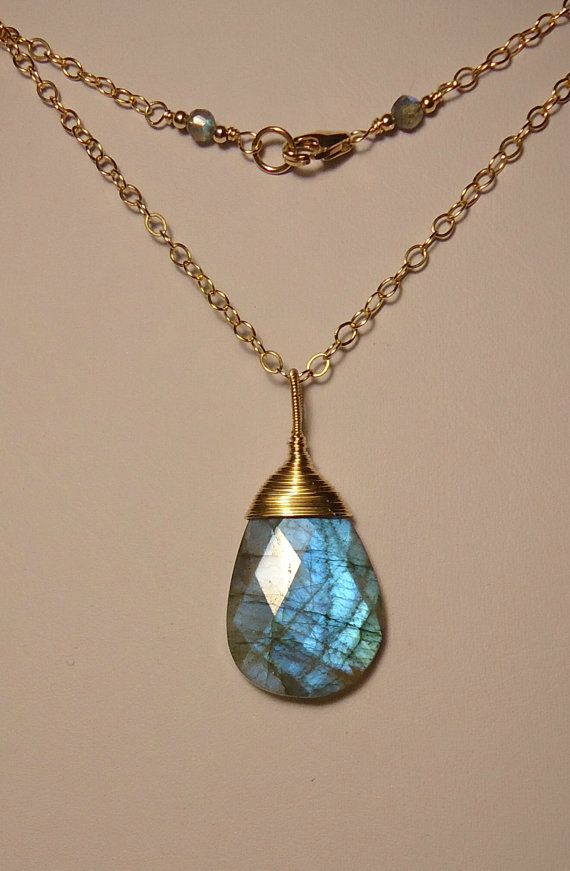 Faceted labradorite pendant necklace by aestheticsunlimited at faceted labradorite pendant necklace by aestheticsunlimited at etsy mozeypictures Choice Image