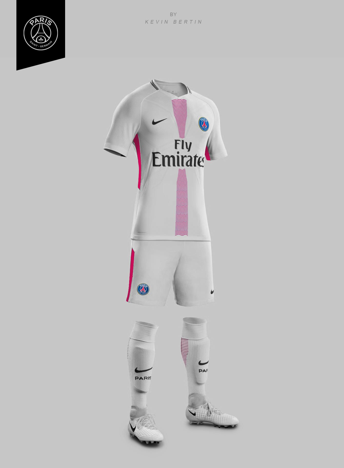 Maillot Exterieur Psg 2017 Psg Concept Design By Kevin Bertin Jersey Maillot Kit 2018