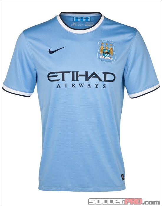 Nike Manchester City Home Jersey 2013-2014   $80 99 | Manchester